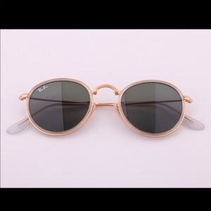 2c6e60efb28d9 ... New Authentic Ray-Ban RB3517 112 N5 48-22 Round ...